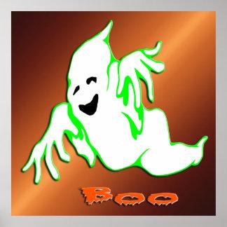 Poster del fantasma 1 del abucheo