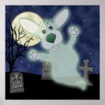 Poster del fantasma del cementerio del Corgi