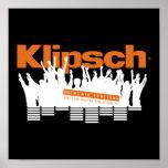 Poster del festival de música de Klipsch mini 2010
