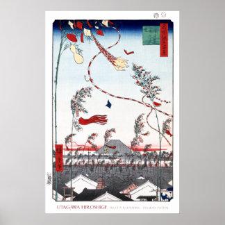 Poster del festival de Tanabata