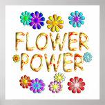Poster del flower power