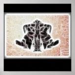 Poster del fractal de Rors cuatro