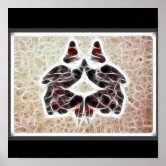 Poster del fractal de Rors dos