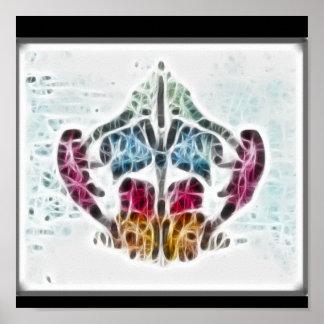 Poster del fractal de Rors ocho Póster