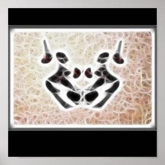 Poster del fractal de Rors tres