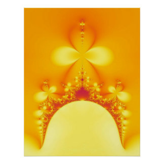 Poster del fractal del santuario