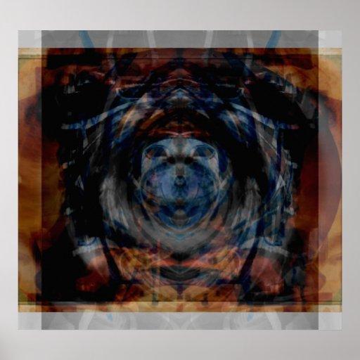 Poster del fuego del ángel