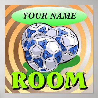 Poster del fútbol