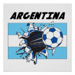 Poster del fútbol de la Argentina Futbol