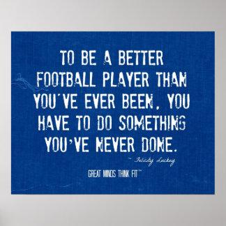 Poster del futbolista