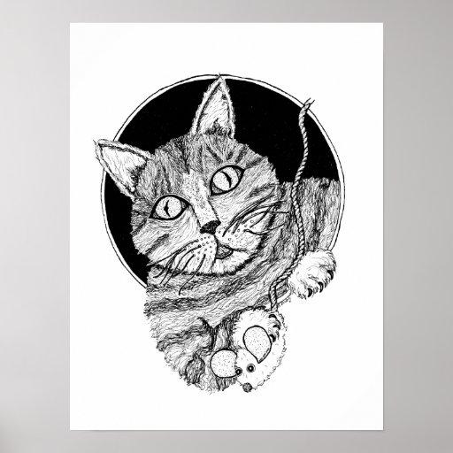 Poster del gato de Clinton