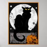 """Poster del """"gato negro"""""""