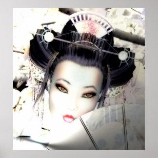 Poster del geisha