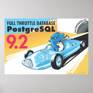 Poster del gigante de PostgreSQL 9,2