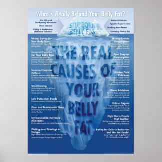 Poster del gimnasio de Infographic de la aptitud -