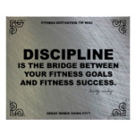 Poster del gimnasio para la motivación #020 de la