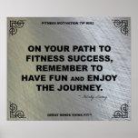 Poster del gimnasio para la motivación #052 de la