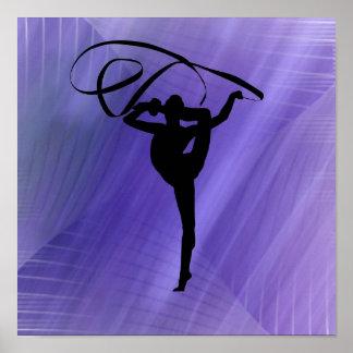 Poster del gimnasta