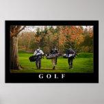 Poster del golf