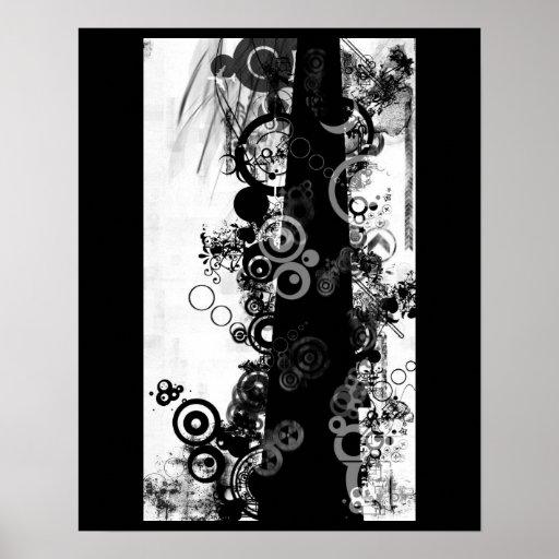 Poster del gráfico del Grunge