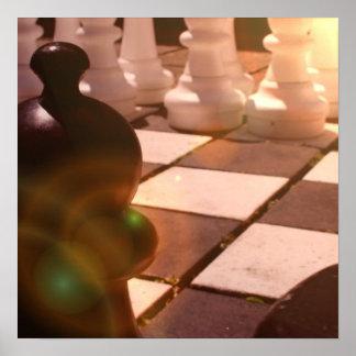 Poster del Grandmaster del ajedrez