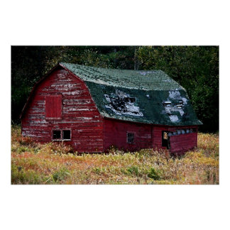 Poster del granero de Adirondack