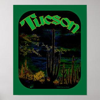 Poster del greenmoon de Tucson