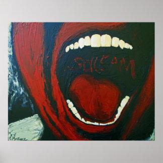 Poster del grito