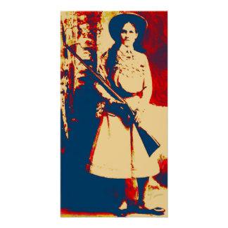 Poster del Grunge del aceite de Annie Oakley del v