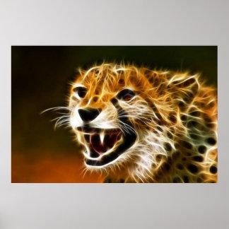 Poster del guepardo 2