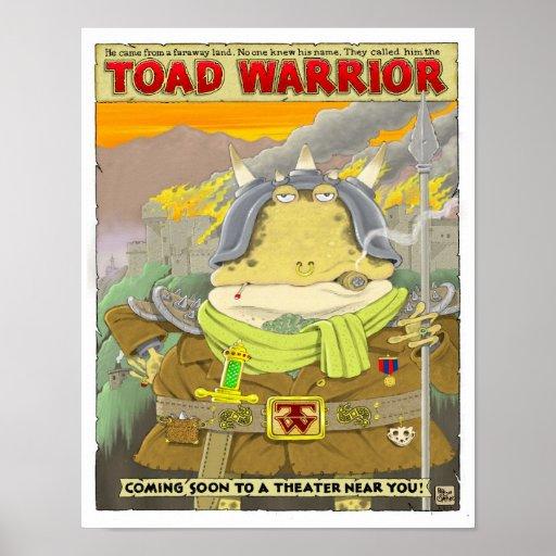 Poster del guerrero del sapo