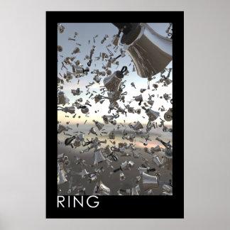 """Poster del Handbell del """"anillo"""""""