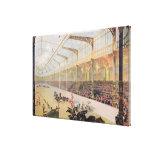 Poster del hipódromo de l'Alma Lona Envuelta Para Galerias