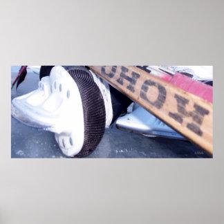 Poster del hockey