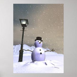 Poster del hombre de la nieve