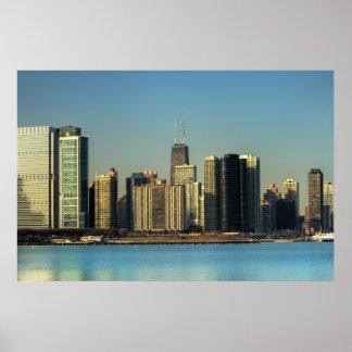 POSTER DEL HORIZONTE DE CHICAGO