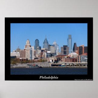 Poster del horizonte de Philadelphia