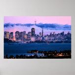 Poster del horizonte de San Francisco Póster