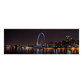 Poster del horizonte de St. Louis