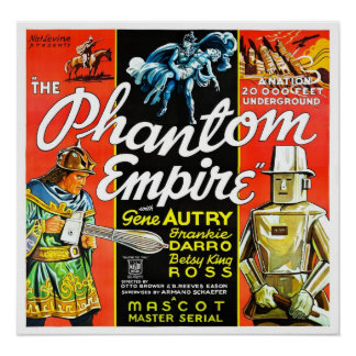 "Poster ""del imperio fantasma"""