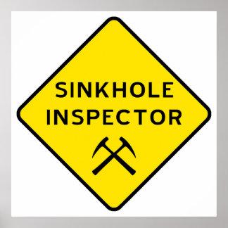 Poster del inspector de la dolina