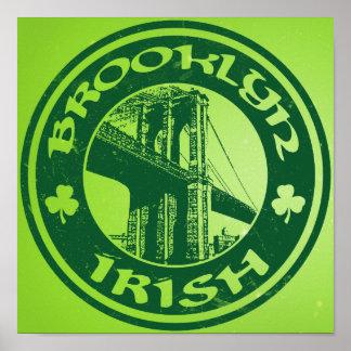 Poster del irlandés de Brooklyn