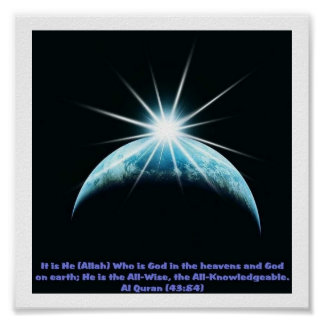 Poster del ISLAM