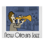 Poster del jazz de New Orleans