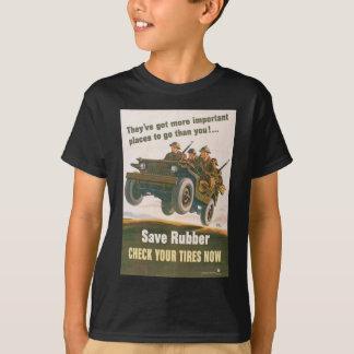 Poster del jeep del vuelo playera