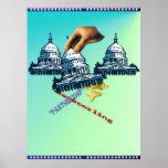 Poster del juego de triles de la Casa Blanca