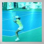 Poster del jugador de tenis
