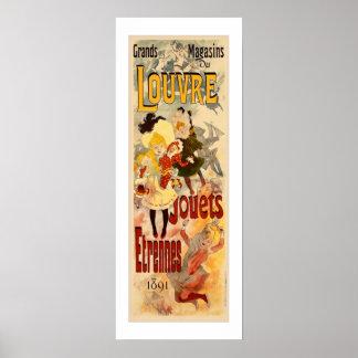 Poster del juguete del vintage