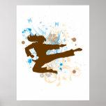 Poster del karate