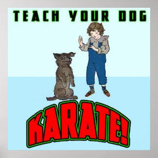 Poster del karate 2 del perro